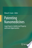 Patenting Nanomedicines Book