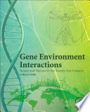 Gene Environment Interactions Book