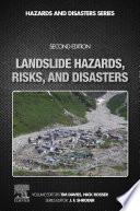 Landslide Hazards  Risks  and Disasters