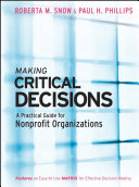 Making Critical Decisions