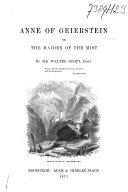 Pdf Anne of Geierstein, Or, The Maiden of the Mist