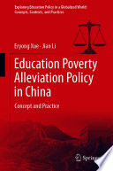 Education Poverty Alleviation Policy in China