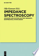 Impedance Spectroscopy Book