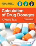 Calculation of Drug Dosages