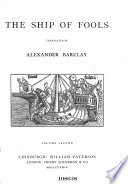 The Ship of Fools  Tr  by Alexander Barclay