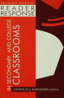 Reader Response in Secondary and College Classrooms [Pdf/ePub] eBook