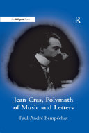 """""""Jean Cras, Polymath of Music and Letters """""""