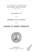 Proceedings of the ... Annual Meeting of the Association of Economic Entomologists