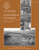 Office of Civilian Radioactive Waste Management  OCRWM   Annual Report to Congress  Fiscal Year 2001