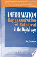 Information Representation and Retrieval in the Digital Age