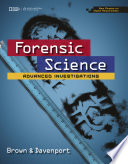 Forensic Science  Advanced Investigations  Copyright Update Book