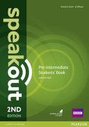 Speakout Pre-Intermediate 2nd Edition Students' Book for DVD-ROM Pack