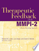 Therapeutic Feedback with the MMPI 2