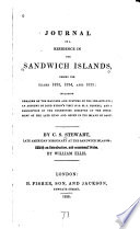 Journal of a Residence in the Sandwich Islands  During the Years 1823  1824  and 1825 Book PDF