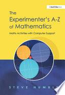 The Experimenter s A Z of Mathematics