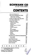 Schwann CD.  , Volume 4,Edição 7
