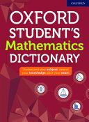 Oxford Student s Mathematics Dictionary 2020