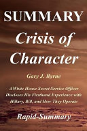 Crisis of Character Summary Book