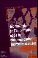 Technologies de l'information et de la communication : approches croisées