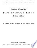 The Tiegs-Adams Social Studies Series: Stories about Sally