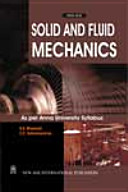 Solid And Fluid Mechanics  Anna University Syllabus