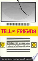 Tell Me Friends  Contemporary Stories and Plays of Tanzania
