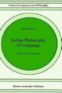 Indian Philosophy of Language