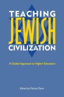 Teaching Jewish Civilization