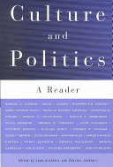 Cover of Culture and Politics