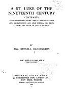 Pdf A St. Luke of the Nineteenth Century