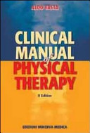 Clinical Manual of Physical Therapy