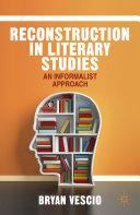 Pdf Reconstruction in Literary Studies