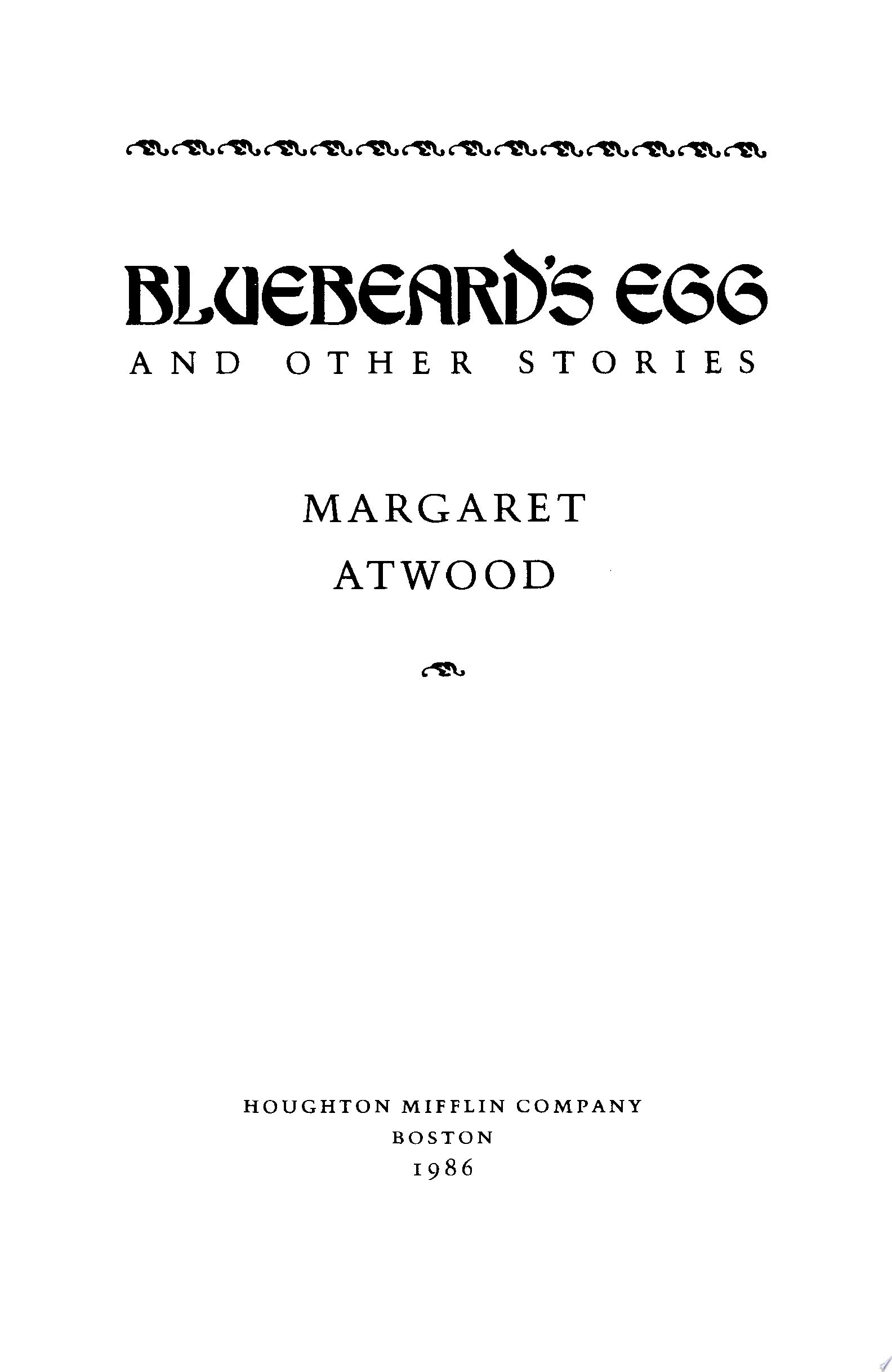 Bluebeard s Egg