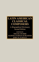 Latin American Classical Composers Pdf/ePub eBook