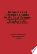 Networks and Resource Sharing in the 21st Century Book