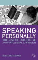 Speaking Personally
