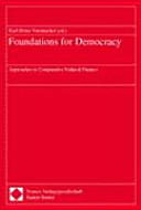 Foundations For Democracy