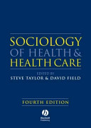 Sociology of Health and Health Care Book