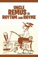 Uncle Remus in Rhythm and Rhyme Pdf/ePub eBook
