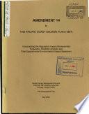 Draft Amendment 14  Pacific Coast Salmon Plan