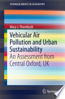 Vehicular Air Pollution and Urban Sustainability