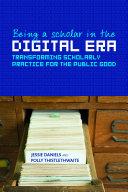 Being a Scholar in the Digital Era Pdf/ePub eBook