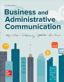 Loose leaf for Business and Adminstrative Communication