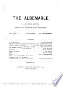 The Albemarle Book