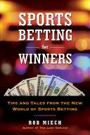 Sports Betting for Winners Pdf/ePub eBook