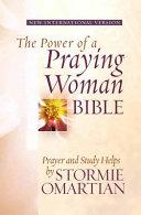 The Power of a Praying Woman Bible NIV Book