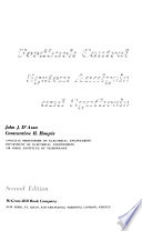 Feedback Control System Analysis and Synthesis