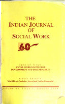 The Indian Journal of Social Work