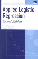 Applied Logistic Regression  Second Edition  Book and Solutions Manual Set