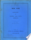 New York Directory Of Federal And State Agencies